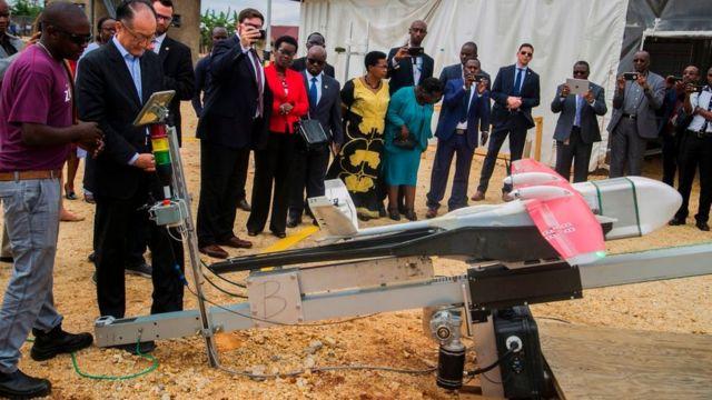 Un service similaire a été lancé au Rwanda pour approvisionner les structures de santé en médicaments.