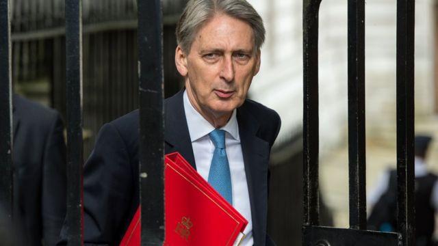 İngiltere'nin yeni maliye bakanı Philip Hammond
