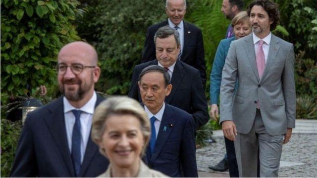 七国集团领袖将在12日的特别会议后发表《卡比斯湾宣言》试图防止新冠肺炎造成的人类和经济灾难再度重演。