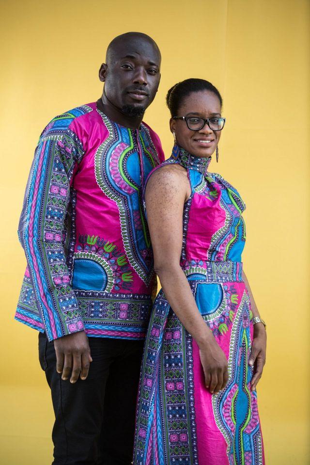 Casal nigeriano