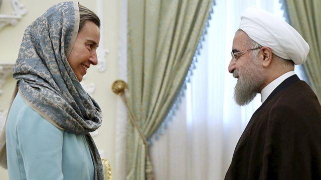 """تزور موغريني طهران لاجراء محادثات """"رفيعة المستوى"""" تتعلق بالشأن السوري"""