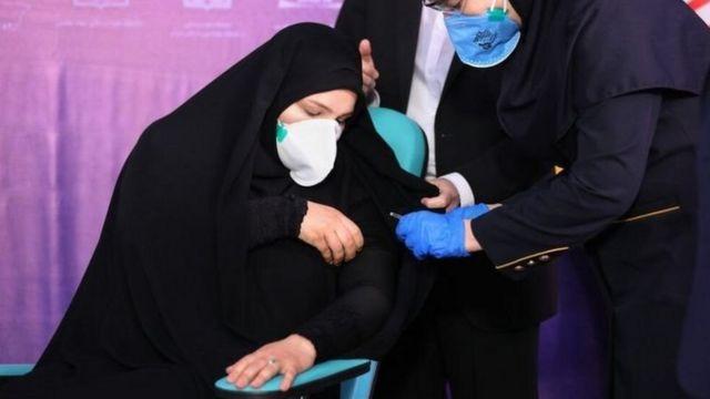 تزریق آزمایشی واکسن در حال تهیه ستاد فرمان امام