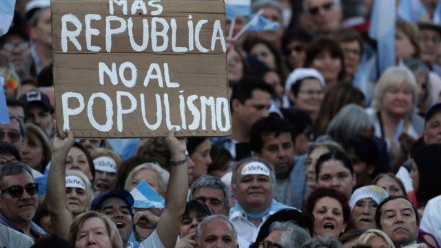 Comício de Macri em 19 de outubro