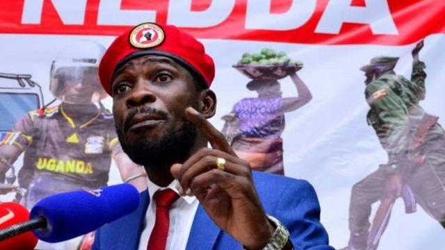 Ugandan presidential challenger Bobi Wine and team arrested, according to staff