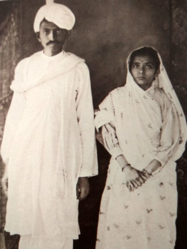 గాంధీ, కస్తూర్బా