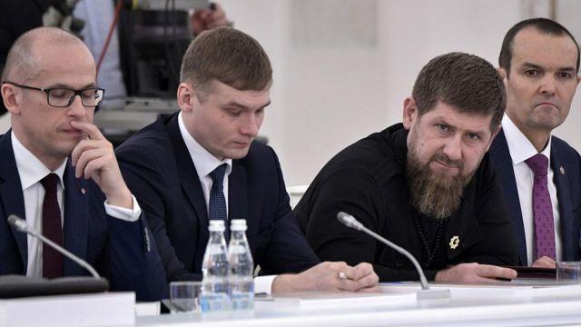 Главы Удмуртии, Хакасии, Чечни и Чувашии в Кремле