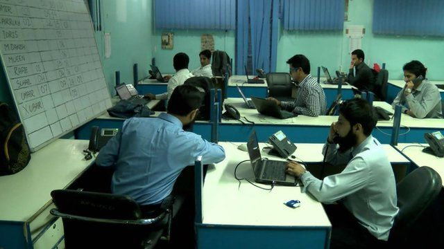 Office in Kashmir