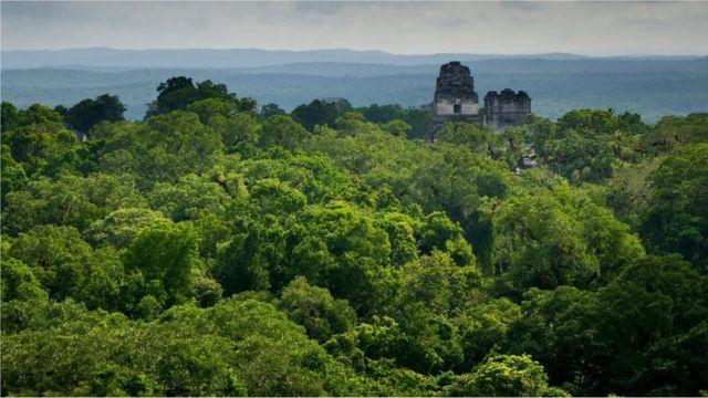 La ciudad de Tikal