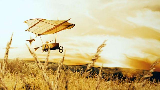 Nave de Cayley volando