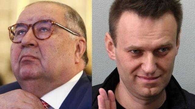 Усмонов ва Навальний можароси давом этмоқда.