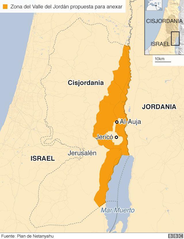 Mapa Israel