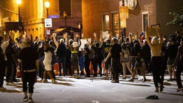 Protestos nos EUA