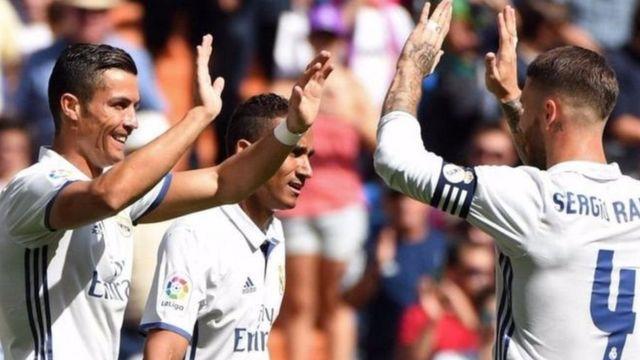Abakinyi ba Real Madrid bariko barigina intsinzi