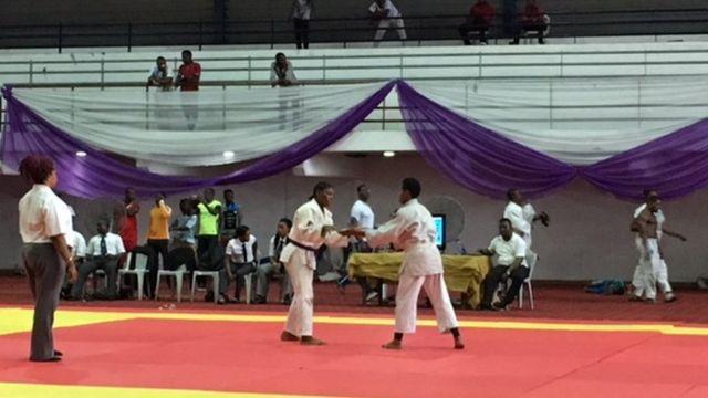 Judokas dey fight
