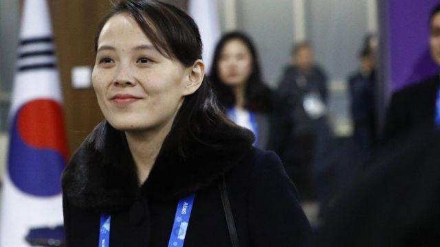 Kim Yo-jong, Ủy viên Bộ Chính trị Đảng Lao động Triều Tiên, thu hút chú ý của báo chí quốc tế và dư luận Nam Hàn