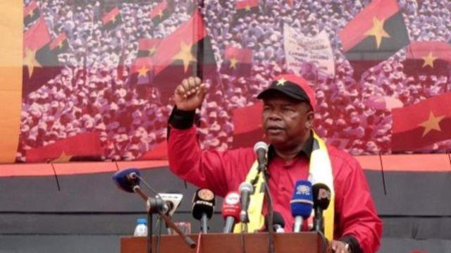 Umushikiranganji wo kwivuna abansi wa Angola Joao Lourenco