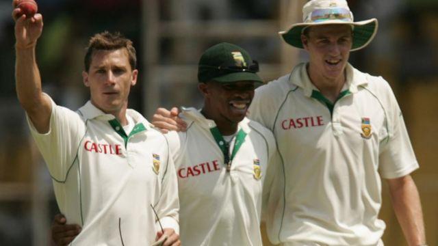 સાઉથ આફ્રિકાની ક્રિકેટ ટીમ