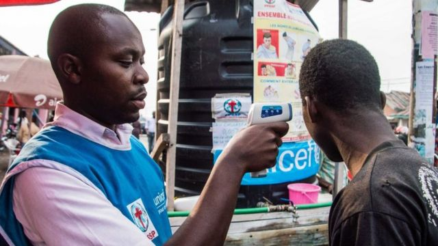 As precauções tomadas na República do Congo para evitar o contágio