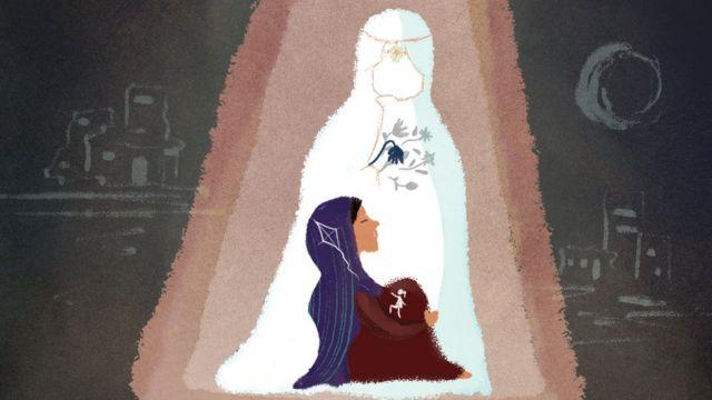 Ilustración de Nazanin
