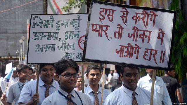 Kolkata police along with Ashok Hall group of schools organized an Anti Drug rally