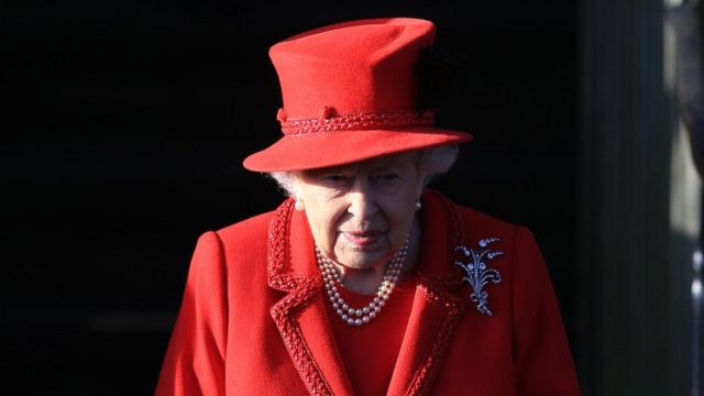 The Queen will later say in her annual Christmas speech that this year has been 'quite bumpy'