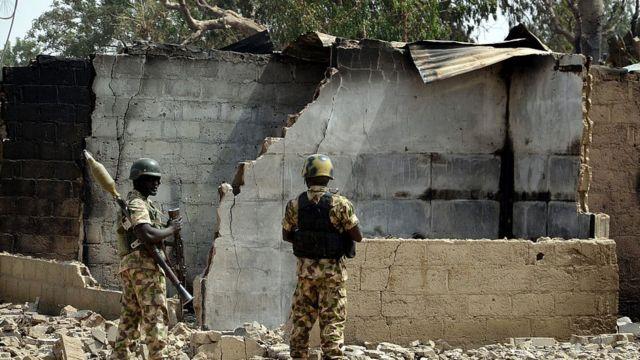 Awọn ọmọogun orilẹede Naijiria nipinlẹ Borno
