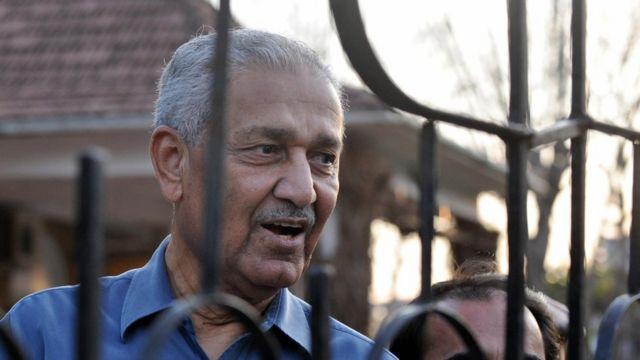 파키스탄 핵의 아버지라 불리우는 A. Q. 칸 박사의 2009년 모습