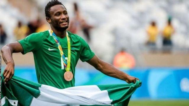 John Obi Mikel a remporté une médaille de bronze lors des JO 2016, avec la sélection olympique du Nigeria.