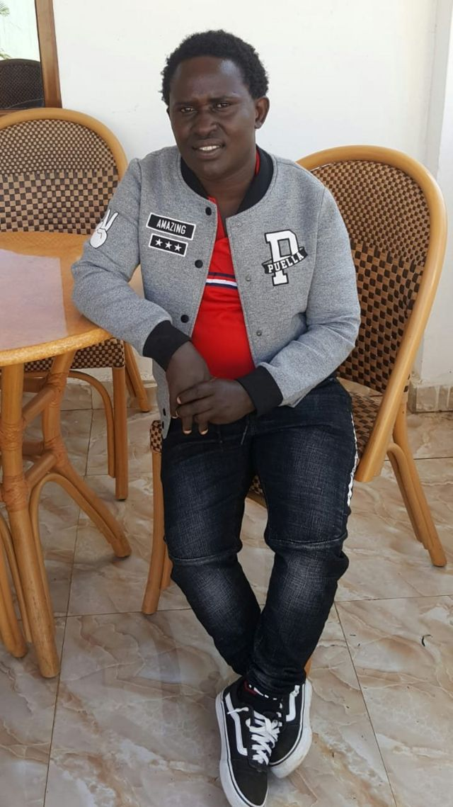 Kwamboka Kibagendi hakuhisi kumuelezea mtu yeyote juu ya masaibu ya utambulisho wa jinsia yake