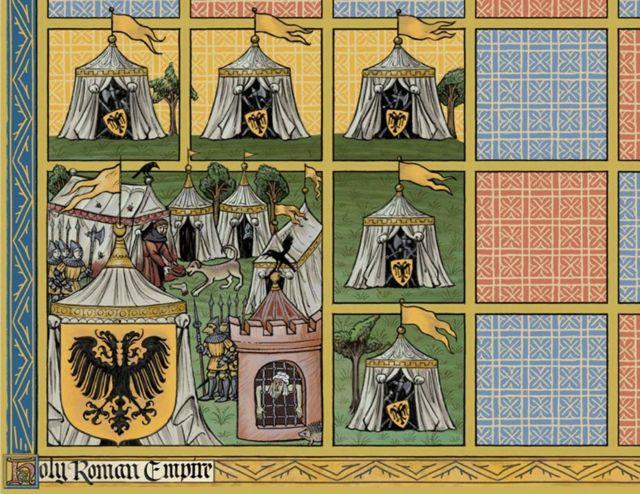 Лагерь армии Священной Римской империи