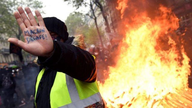 Протесты 1 мая во Франции