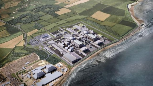 CGI of Hinkley Point proposed plans