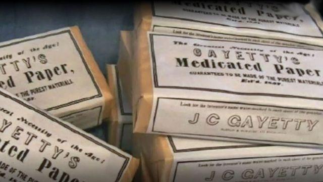 Papel medicado de Gayetty
