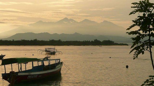 صور لجزر جيلي الإندونيسية