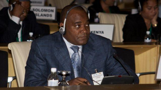 André Okombi Salissa a vu son immunité parlementaire levée par l'Assemblée nationale, le 19 janvier dernier