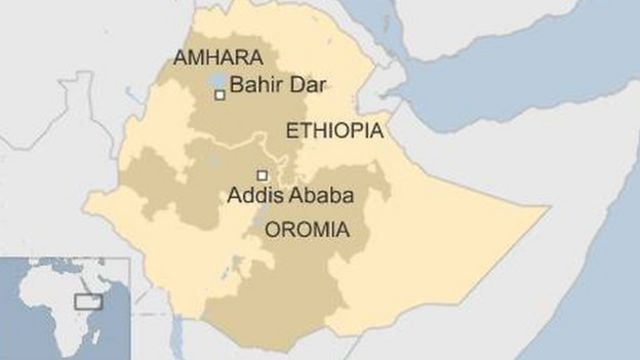 Ethiopia protests: 'Nearly 100 killed' in Oromia and Amhara - BBC News