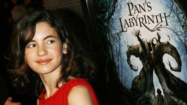 """La actriz Ivana Baquero (Ofelia) en una proyección especial de """"El laberinto del fauno"""" en Los Ángeles, California."""
