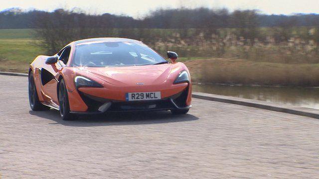 A Luxury sports car