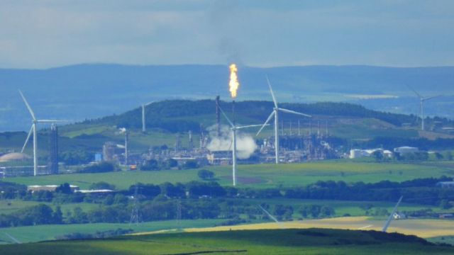 Mossmorran plant flaring causes Fife houses 'to vibrate'