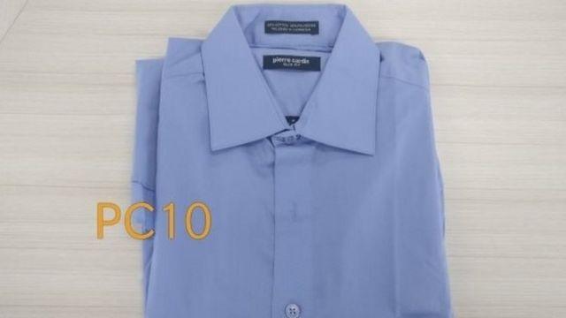 Kemeja Pierre Cardin buatan Indonesia yang dijual seharga Rp99.000.