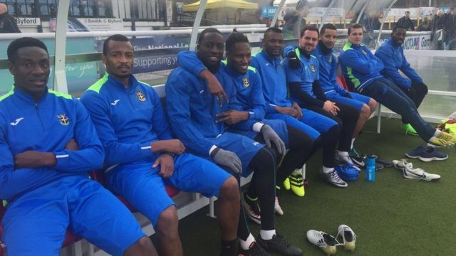 Jugadores del Sutton