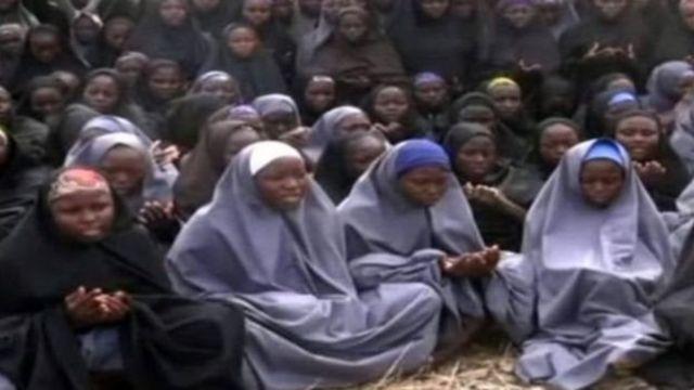 Boko Haram ta taba cewa ta musuluntar da 'yan matan wadanda mafi yawansu Kiristoci ne