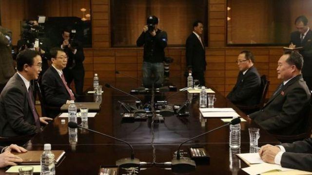 نمایندگان دو کره اواخر ماه مارس برای برنامهریزی دیدار رهبران دو کشور ملاقات کردند