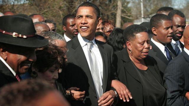 Barack Obama en el aniversario 50 de la marcha a Selma