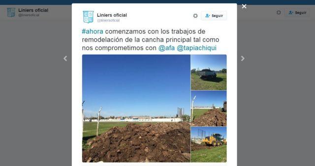 Cuenta oficial de Liniers