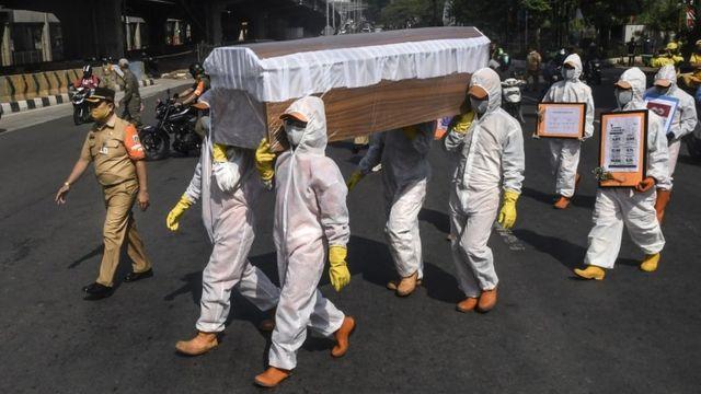 Covid 19 Indonesia Mencapai Setengah Juta Kasus Positif 25 Di Antaranya Ada Di Jakarta Bbc News Indonesia