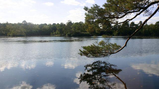 Lago en Inglaterra