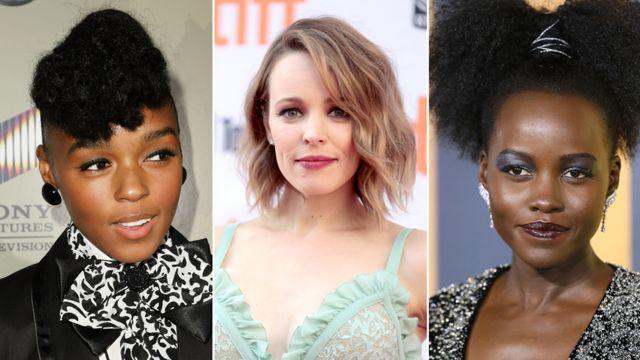 Janelle Monae, Rachel McAdams y Lupita Nyong'o