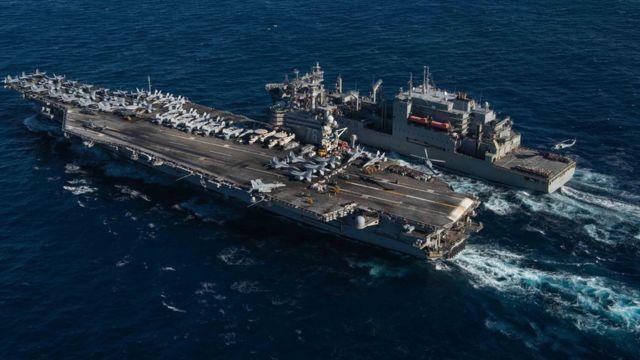 Toàn cảnh hàng không mẫu hạm USS Ronald Reagan