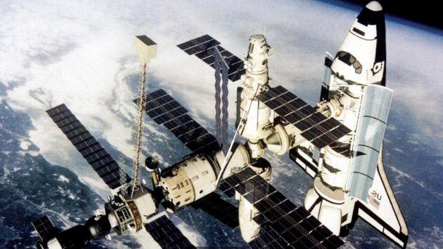 俄羅和平號空間站